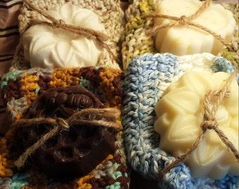 Washcloth & Soap Set