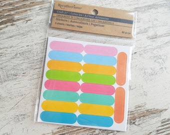 "Recollections stickers ""colorcoding"""
