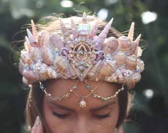 real crystal crown