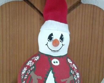 Snowman Gourd Ornaments/Figurines