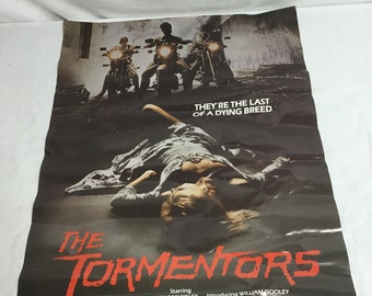 The Tormentors 1980's Movie Poster 18 X 24