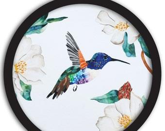 Beautiful Hummingbirds Set of 3 Watercolor Art Prints
