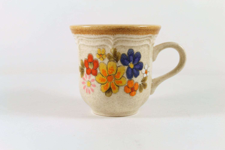 Vintage Mug Mikasa Garden Club Spring By TheGildedLionBooks