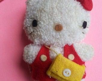 1976  vintage hello kitty plush ornament-hello kitty-hello kitty doll-hello kitty plush-