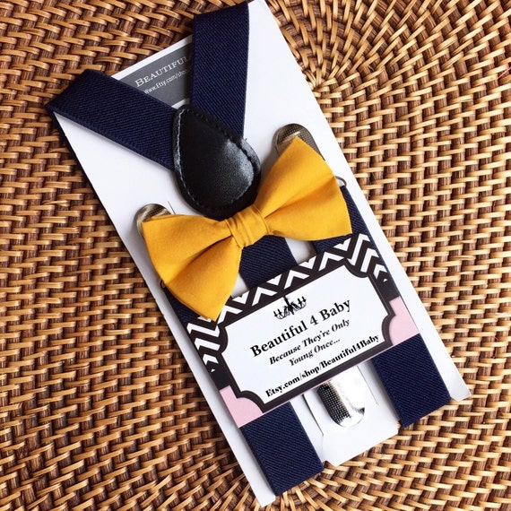 baby bow tie toddler bow tie mustard baby bow by