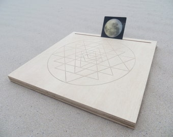 Meditation altar / table natural