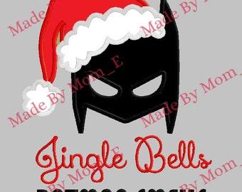 Jingle Bells Batman Smells Applique