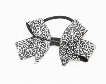 spiderweb hair tie bow last one free post Australia wide