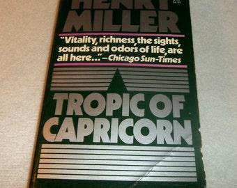 HENRY MILLER Tropic Of Capricorn  Grove Press Paperback Book