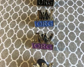 Jw.org gold pins
