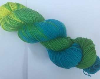 """Hand Dyed Yarn """"Fields of Gold"""""""