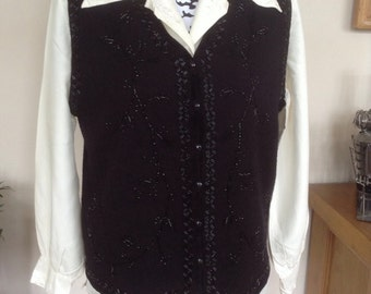 Vintage M&S wool waist coat