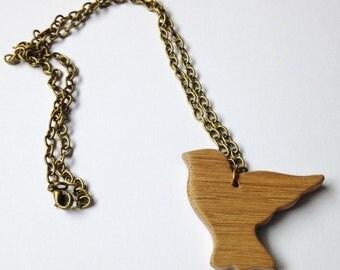 Oak Dove Necklace