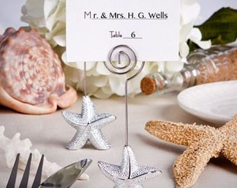 Starfish Place Card Holders (Pack of 25) Wedding Reception Supplies