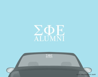 SigEp Sigma Phi Epsilon  Fraternity Alumni Decal Sticker