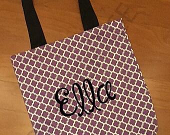 Halloween Tote Bag, Halloween Bag, Halloween Basket, Trick or Treat Bag, Tote Bag, Canvas Tote Bag
