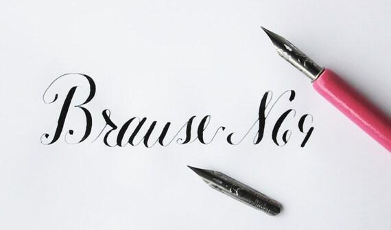 Brause Calligraphy Nib Starter Set Calligraphy Kit