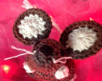crochet Chocolate Mouse