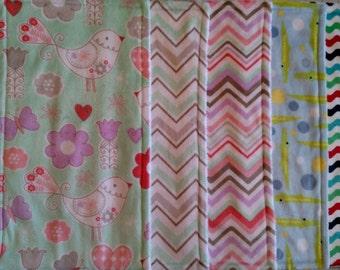 Burp Cloths - set of 2
