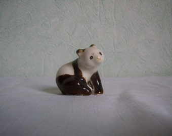 Figurine, panda, porcelain, ceramic, collection