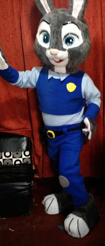 Zootopia Lt Hopps Mascot Costume Adult Costume