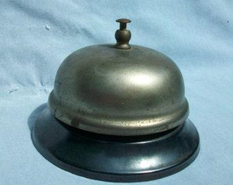 Vintage Desk Bell - 1930s 1940s - Antique Desk Bell