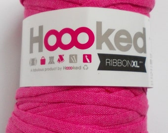 Hoooked RibbonXL, pink, 120m per roll (0,08 Euro/m)
