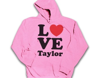 Love Taylor Swift Hoodie. All Sizes