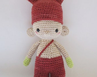 Fitz, one of the U.T.I.s -  Crochet Pattern by {Amour Fou}