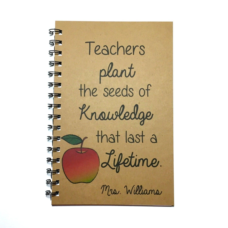 Quotes About Teachers Planting Seeds: Teacher Gift Teacher Quote Planting The Seeds Of Knowledge