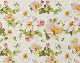 Gift Wrap Donation Option - White + pink floral