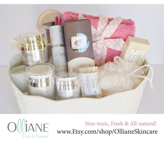 The perfect natural, handmade Christmas spa gift for the most important woman kin your life!
