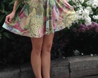 ON SALE Carnivorous Garden Skater Skirt