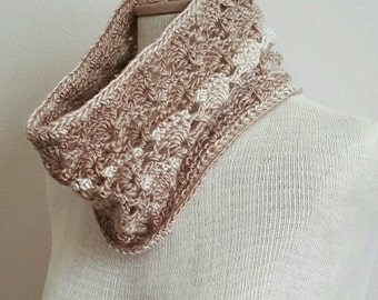 Vintage Cowl Crochet Pattern *PDF FILE ONLY* Instant Download
