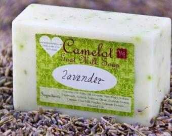 Camelot Goat Milk Soap - Lavender (4oz)