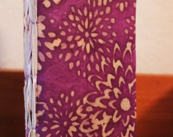 Incantations Journal - Spell Book - Narrow, Handbound, Colored Paper