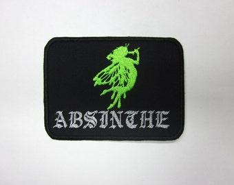 Absinth Fairy Iron on  Patch