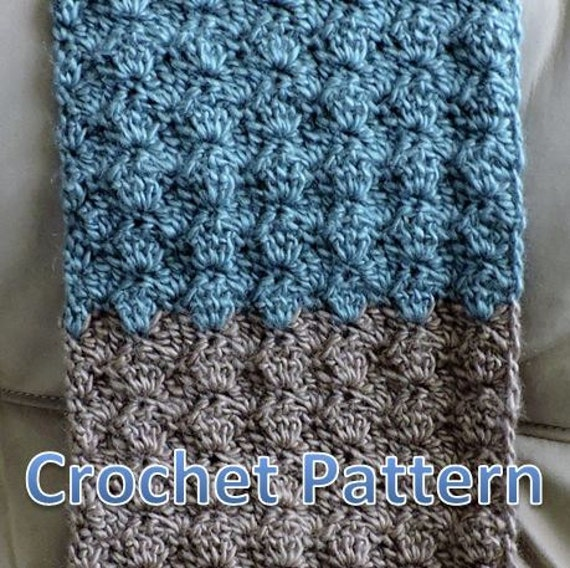 Free Crochet Pattern Scallop Scarf Pakbit For