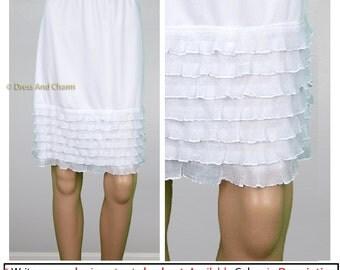 dress extender, slip extender, Skirt extender, Lace slip, Dress Extender slip, half slip, lace slip extender