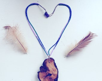 Tree Spirit Handmade Beaded Necklace