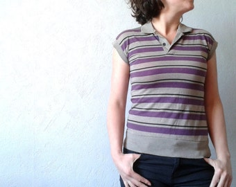 Levi's striped polo shirt