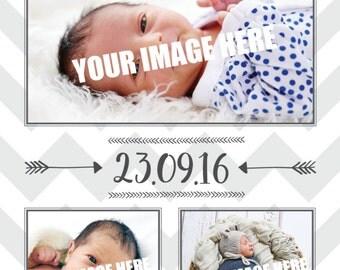 Thank You / Birth Announcement Card