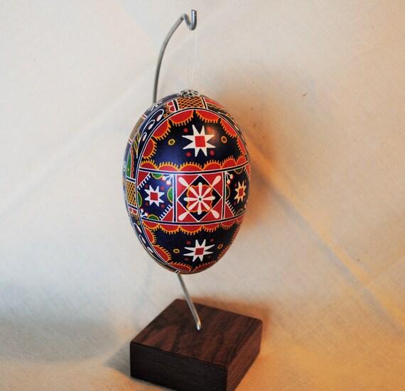 pisanki ukrainian easter egg goose egg by theeggnpagan on etsy