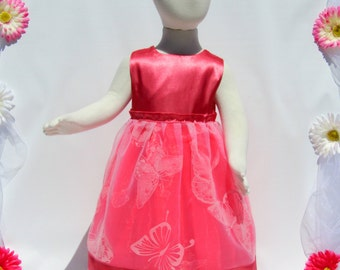 Special occasion baby girl dress (perfect for flower girl, 1st birthday), fancy little dress