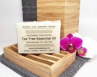 Tea Tree Oil - Shea Butter & Jojoba Soap