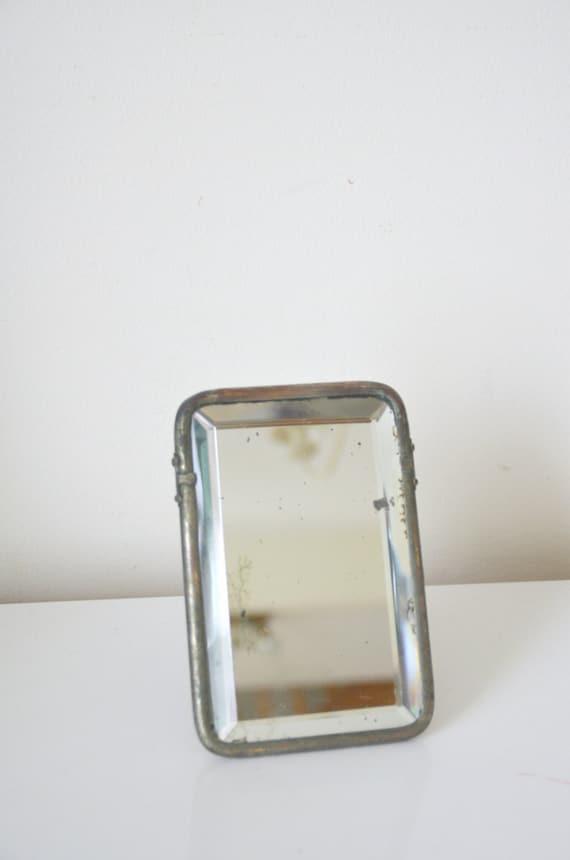 Miroir de barbier verre biseaut miror barber miror for Miroir barbier