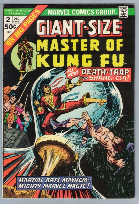 Giant-Size Master of Kung Fu 2 Dec 1974 VF+ (8.5)