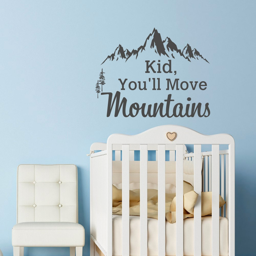 Mountain wall decal dr seuss quote kid youll move description mountain wall decal amipublicfo Choice Image