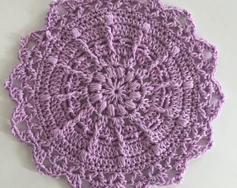 Puffs and Picots Mandala