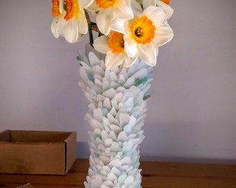 Unique Sea Glass (Seaglass) Vase by Naomi